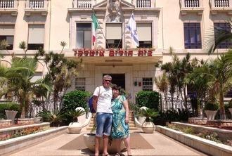 Родители Светланы в Итальянской больнице