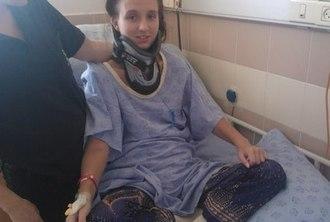 Жукова Виктория прошла реабилитацию в Израиле