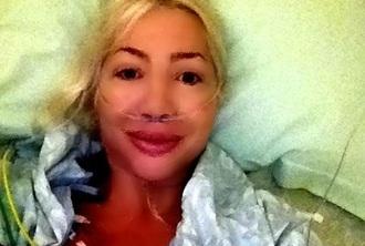 Катя Бобрицкая после операции у доктора Пекарского