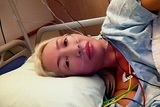 Катя Бобрицкая после операции у доктора Ильи Пекарского