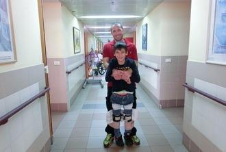 Виктор проходит реабилитацию в Реут (Израиль)