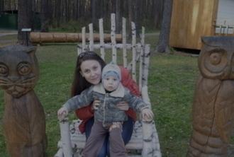 Екатерина Тубольцевой с сыном