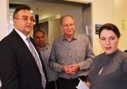 Посол Украины посетил реабилитационный центр «Левинштейн»