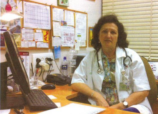 Доктор Марина Мотин, больница «Левинштейн»