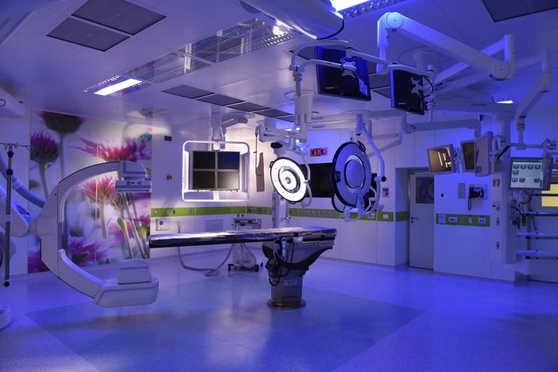 Операционные в медицинском центре Хадасса