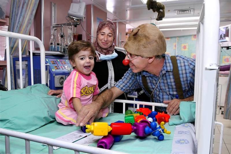 детская больница в клинике Рамбам