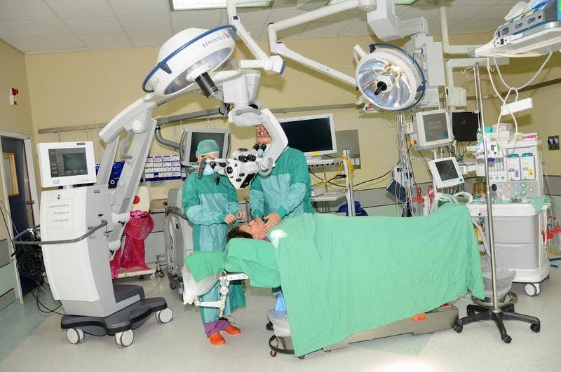 Операционная в клинике Сорока