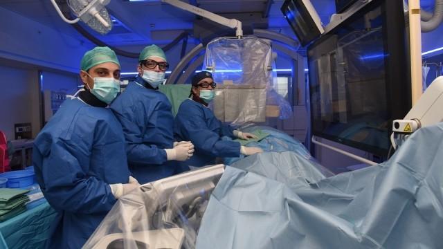 Уникальная операция на сосудах головного мозга в Израиле