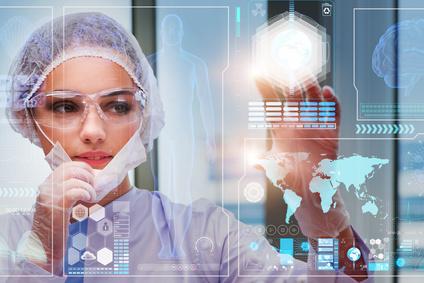 Исскуственный интеллект анализирует результаты диагностики