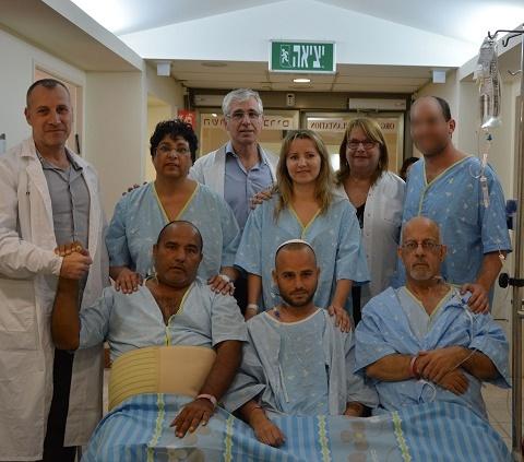 В Израиле сделали пересадку почки трем пациентам одновременно